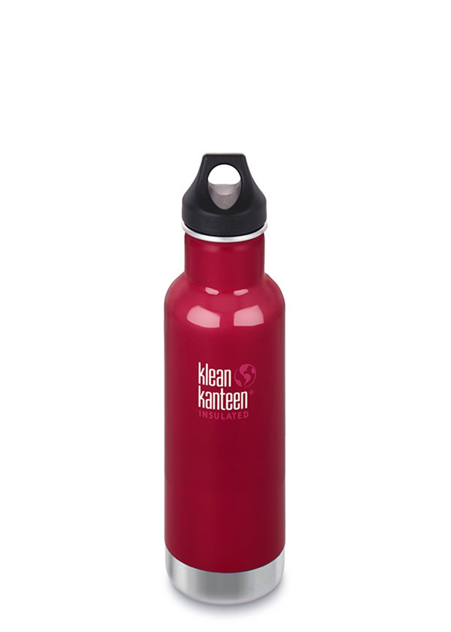 592ml/20oz Kanteen® Classic Vacuum Insulated tappo vite - ROSSO