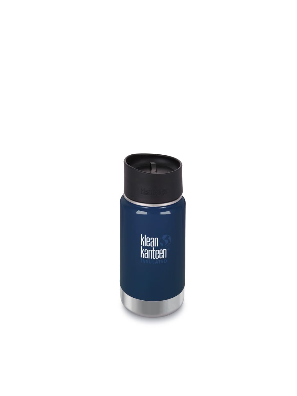 Klean Kanteen Vacuum Insulated Wide - Tappo Caffè/Tee - 355 ml - BLU SCURO