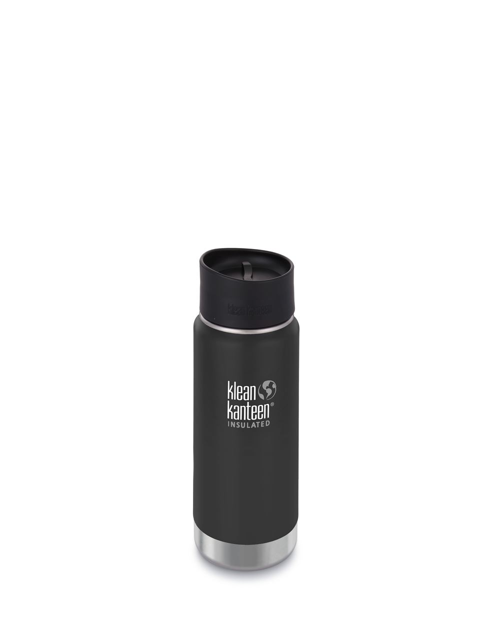 Klean Kanteen Vacuum Insulated Wide - Tappo Caffè/Tee - 473 ml - NERO