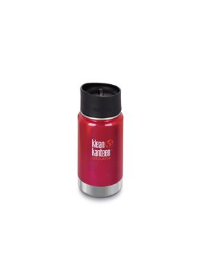 Klean Kanteen Vacuum Insulated Wide - Tappo Caffè/Tee - 355 ml - ROSSO
