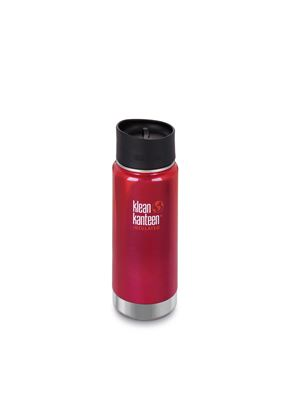 Klean Kanteen Vacuum Insulated Wide - Tappo Caffè/Tee - 473 ml - ROSSO