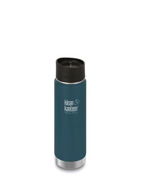 Klean Kanteen Vacuum Insulated Wide - Tappo Caffè/Tee - 592 ml - BLU