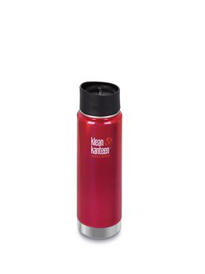 Klean Kanteen Vacuum Insulated Wide - Tappo Caffè/Tee - 592 ml - ROSSO