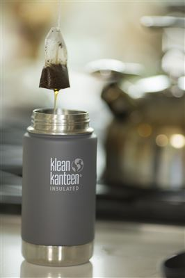 Klean Kanteen Vacuum Insulated Wide - Tappo Caffè/Tee - 355 ml - COLOR GRANITO